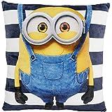 Minions 0122056Cojín Hanging Bob, poliéster, azul, 35x 35x 1,5cm