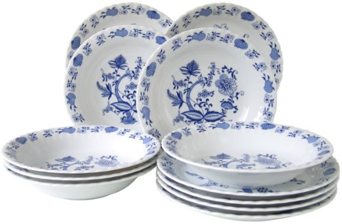 Creatable 11688 - Vajilla Elegante, Color Azul