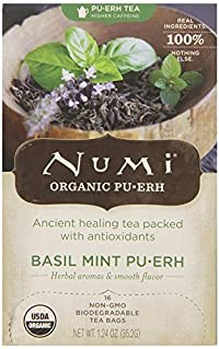 NUMI TEAS TEA GINGER PUERH, 16 BG