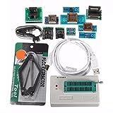 MYAMIA Tl866Ii USB Mini Pro Programador con 10Pcs Adaptador Eeprom Flash 8051 Avr Mcu SPI Icsp