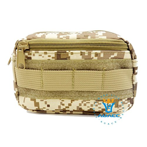 Multifunktions Survival Gear Tactical Beutel MOLLE POUCH Military Field Kleinteile Bag, Outdoor Camping Tragbare Travel Bags Handtaschen Werkzeug Taschen Waist Bag Handy Pouch DDC
