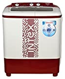 #8: Intex 6.2 kg Semi-Automatic Top Loading Washing Machine (WMS62TL, White and Maroon)