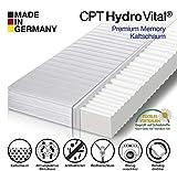 HydroVital-Spa Premium Comfort Kaltschaum Matratze, 7 Zonen wählbar, Härtegrad H2, H3, H2 & H3 - Made in Germany – 10 Jahre GARANTIE – Oeko-Tex 100 (90 x 200 x 16 cm - 7 Zonen, H2)