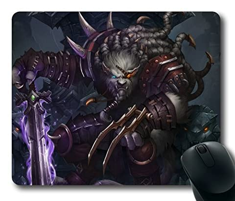 Rengar League of Legends Game002 Rectangle Mouse Pad by eeMuse