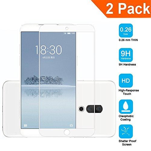 [2-Unidades] Pantalla Protector para Xiaomi Redmi S2 Cristal Templado para Xiaomi Redmi S2 Glass de Alta Definición 9H de Dureza