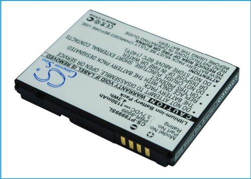 techgicoo 1150mAh Ersatz Akku für Pantech cdm-8999Crux