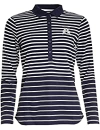 Joules Blaise Long Sleeved Ladies Polo Shirt (V)