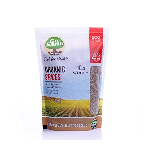 Go Earth Organic Jeera Seeds 500g