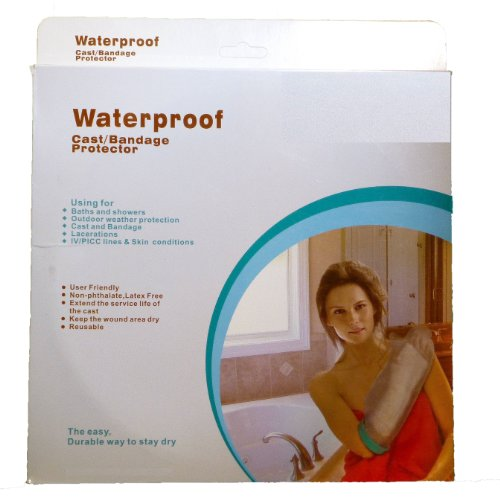 BNIB Cast Protectors for Bath and shower (Wide Adult Short Arm) 660 x 300x190 mm by Active Life
