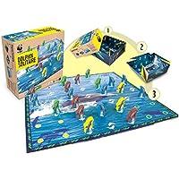 WWF - Solitario de Delfines, juego de tablero (980)