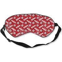 Natural Silk Eyes Mask Sleep Snowflake Blindfold Eyeshade with Adjustable for Travel,Nap,Meditation,Sleeping,Shift... preisvergleich bei billige-tabletten.eu