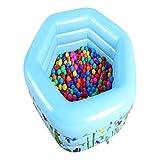 huichang Aufblasbarer Pool für Baby Planschbecken Schwimmbäder Sommerspaß-Spielzeug Family Pool