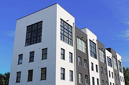Nano Fassadenfarbe seidenmatt Weiß | BEKATEQ Wandfarbe BE-520 Hausfassaden Versiegelung Außenfarbe Hausfarben mit ABPERLEFFEKT Fassadenfarben WASSERABWEISEND, HOHE DECKKRAFT, ATMUNGSAKTIV (10L - Weiß)