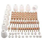 F Fityle 100 x Plasmaschneider Düsen Elektroden Zubehör Set
