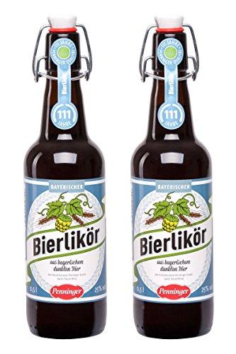 Penninger Bayerischer Bierlikör, 2er Pack (2 x 500ml)