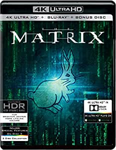 The Matrix (4K UHD & HD + Bonus Disc) (3-Disc)