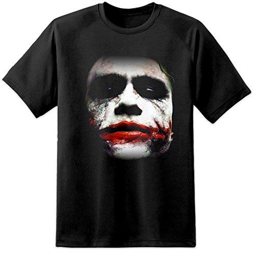 T-Shirt, Joker, Batman, der dunkle Ritter, Größen S bis 3XL, Motive von Suicide Squad, Batman, Superman, Spiderman, Avengers  Gr. X-Large, schwarz