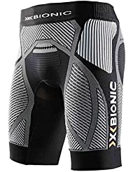 X-Bionic unning Man the Trick Running Pants - Pantaloncini corsa da uomo, multicolore (nero/bianco), M