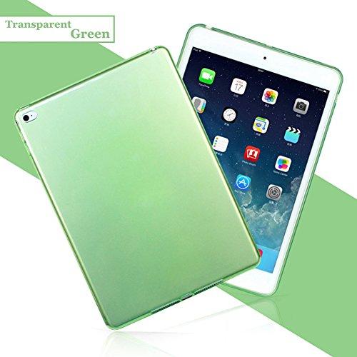 Apple Pda-fall (Qingsun Transparent Ultradünne Weiche Gel Flexible TPU Schutzhülle Cover Schutz Für Apple iPad AIR2iPad 6)