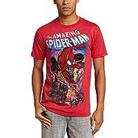 Toy Zany The Amazing Spider-man Spiderscene Mens Lightweight T-Shirt | L