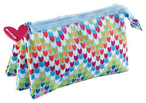 Agatha Ruiz de la Prada 16632 Trousse triple Multicolore 225 x 115 x 20 mm