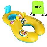 Ttath Aufblasbaren Pool schwimmen Ring für Mutter & Baby 0-2 Jahre