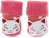 Sterntaler Mädchen Socken Baby-Rasselsöckchen, Rot (Beerenr Mel 816), One Size (15/16)