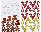 folia Moosgummi Glitter-Sticker