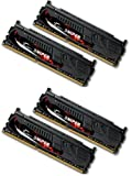 G.Skill 16GB DDR3-2400 16GB DDR3 2400MHz memory module - memory modules (DDR3, PC/server, 240-pin DIMM, 4 x 4 GB, Dual)