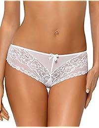 Nipplex Dorota délicat short femmes broderies culottes classiques – fabriqué  en UE (soutien-gorge 7dd06a579ad