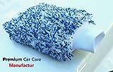 Vertrieb durch K.Kruse Einzelunternehmen Hochwertiger Autowaschhandschuh aus Microfaser, Waschhandschuh, Autoschwamm, Auto Waschhandschuh, Auto Microfaser