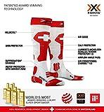 X-SOCKS Chaussettes Ski Patriot 4.0 Suisse Homme, Rouge/Blanc, FR : M (Taille Fabricant : M(39-41))...