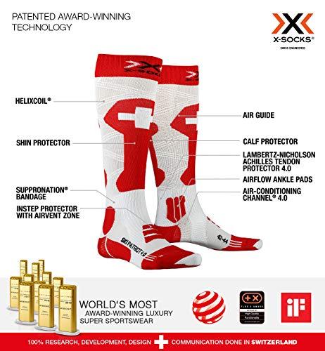 X-Socks Patriot 4.0 Switzerland - Calcetines esquí
