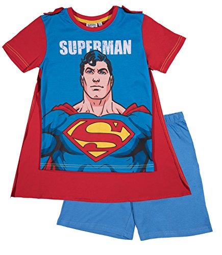 Superman Chicos Pijama mangas cortas – Azul