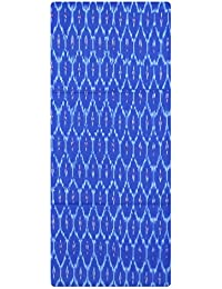 0a2af9ecb9ea0c Bharathi Ikat Fabs Pure Handloom Pochampally Ikat Cotton Unstitched Dress  Material (Multi-Coloured) For…