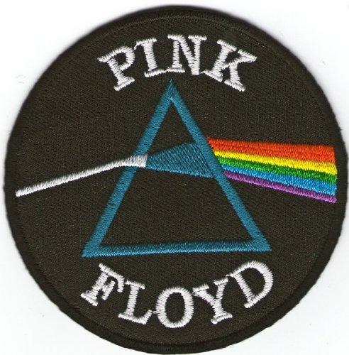 Toppa termoadesiva dei Pink Floyd, da cucire o applicare con ferro da stiro, misura circa 7,5 cm