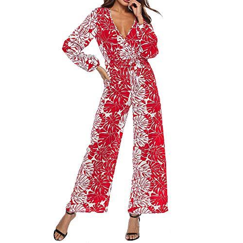 Womens Weihnachtsbaum Kostüm - Battnot Sexy Elegant Overall Damen V-Ausschnitt,