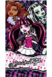 Monster High TOWEL 70x140 cm bath towel beach towel (820-122)