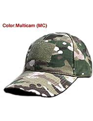 De plein air Réglable Baseball Velcro de Protection Casquette Camo Devoir Chapeau (Multicam MC) pour Militaire Armée Tactique Des sports Opérateur Chasse Camping Tournage