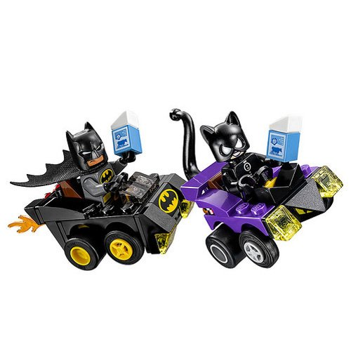 lego super heroes set mighty micros batman vs catwoman. Black Bedroom Furniture Sets. Home Design Ideas