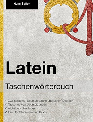 Taschenwörterbuch Latein