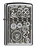 Zippo - Accendino, motivo ingranaggi - Zippo - amazon.it