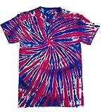 Colortone Regenbogen Tiedye T-Shirt - 9 Designs / SML - 2XL - Union Jack - XL