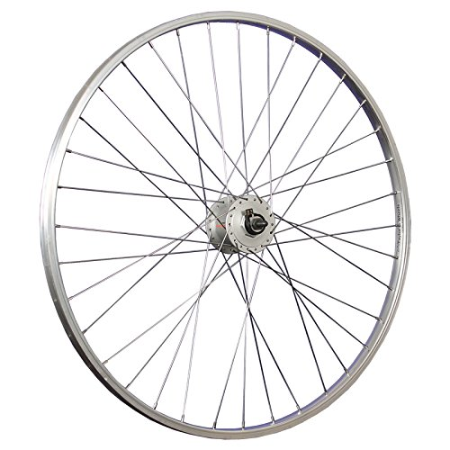 fahrradspeichen 28 zoll Taylor-Wheels 28 Zoll Vorderrad Shimano Nabendynamo Nexus DH-C3000-3N - silber