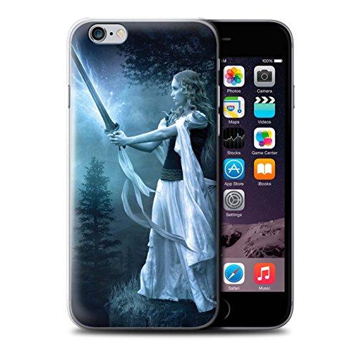 Officiel Elena Dudina Coque / Etui pour Apple iPhone 6S / Pack 9pcs Design / Super Héroïne Collection Épée Magique