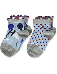 Tommy Hilfiger Th Baby Balloons Sock, Calcetines para Bebés (Pack de 2)