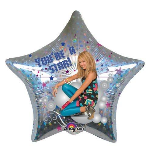 amscan-foil-balloon-hannah-montana-youre-a-star-45-cm