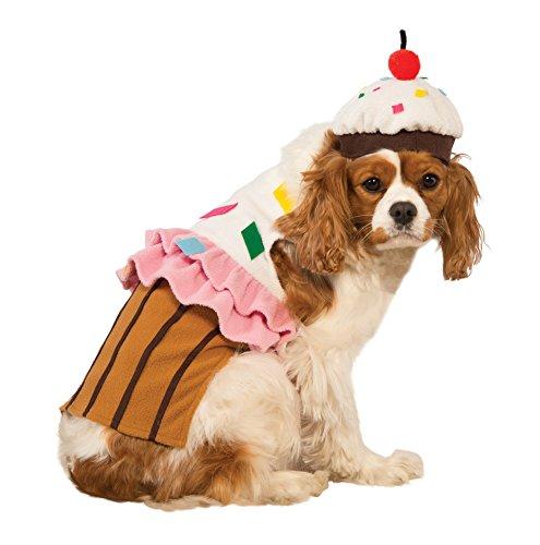 Hunde Cupcake Für Kostüm - Rubies Kostüm Cupcake Hund Kostüm, S, Mehrfarbig