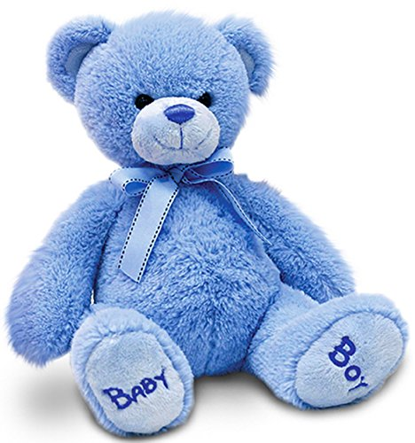 Keel Toys Nursery Bobby Bear 35 cm (Blue)