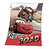 Herding 7529213035 Disney's Cars Fleecedecke, Polyester, rot, 130 x 160 cm